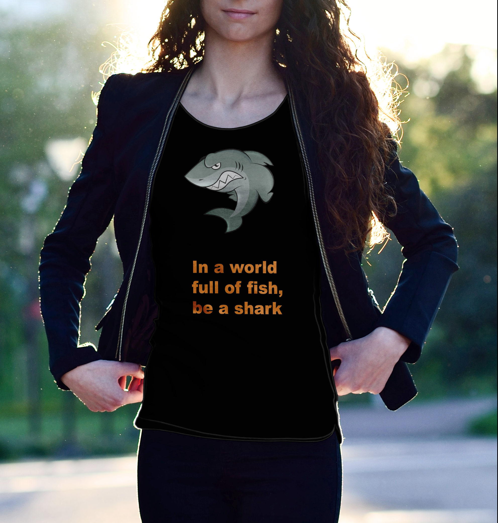 be a shark, png