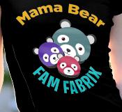 Mama bear zoom in, Famfabrix