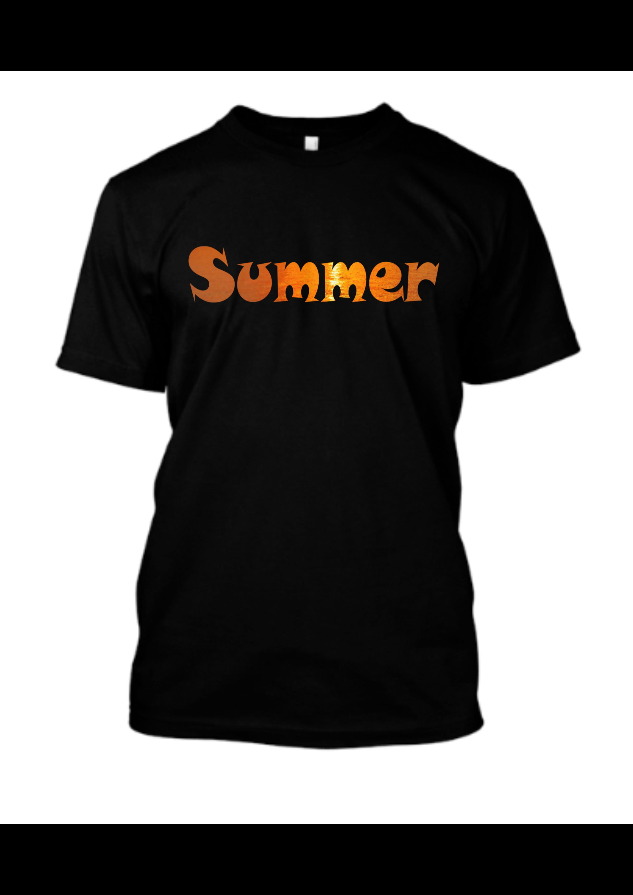 Famfabrix_print_word summer men T-shirt