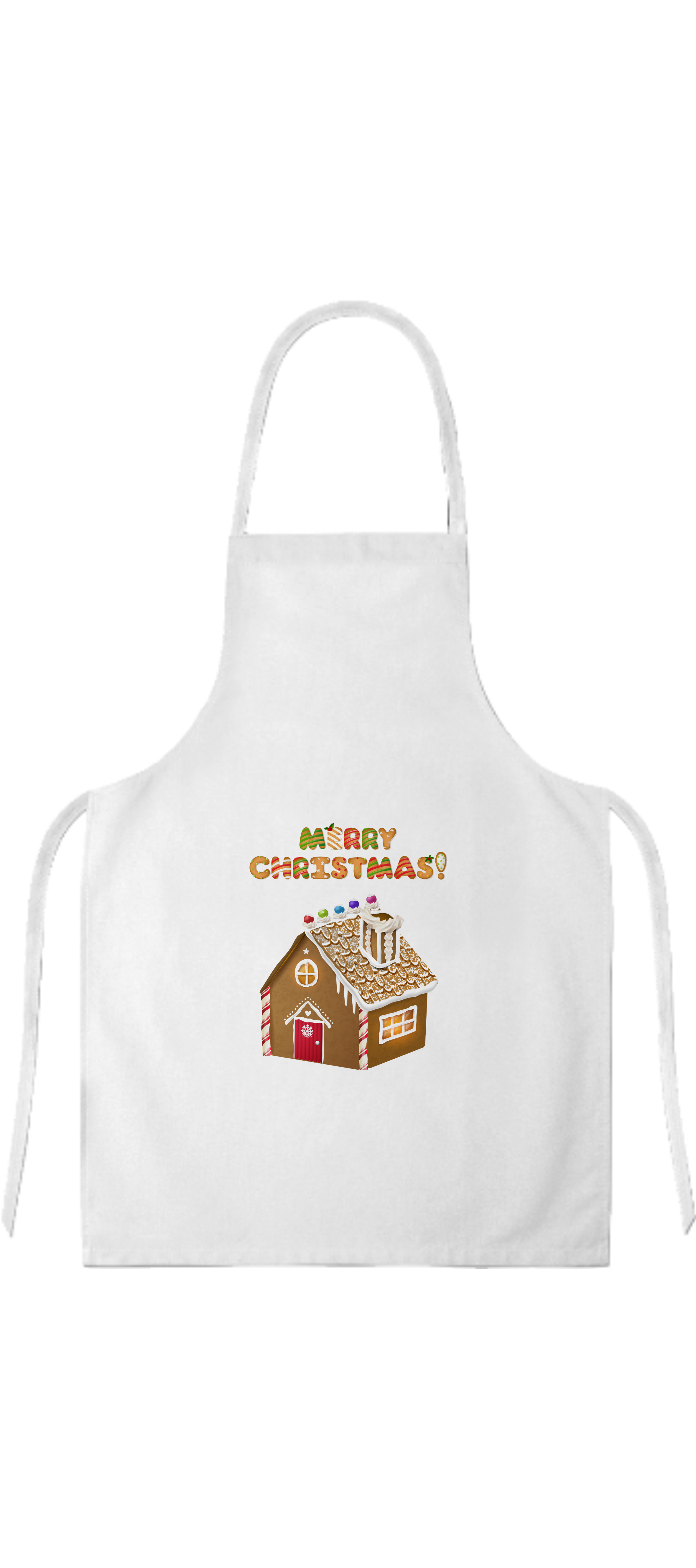 Apron gingerbread house