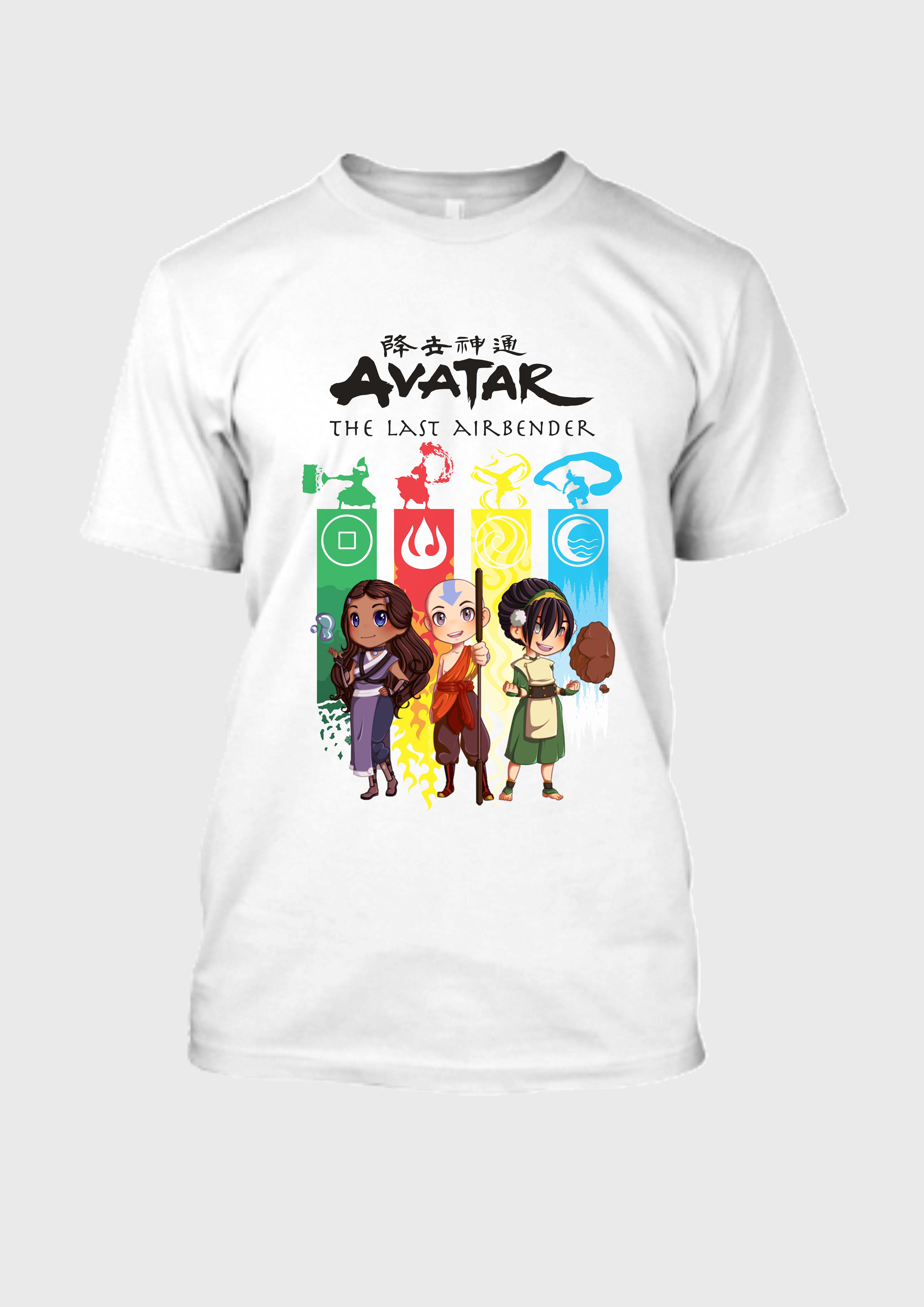 Avatar 4 Tribes White Tee