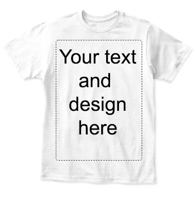 1-6 years custom T-shirt